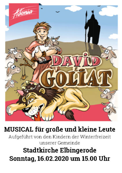 David & Goliat_Musical Elbingerode 2020