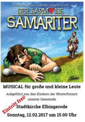Familienmusical | Der Barmherzige Samariter