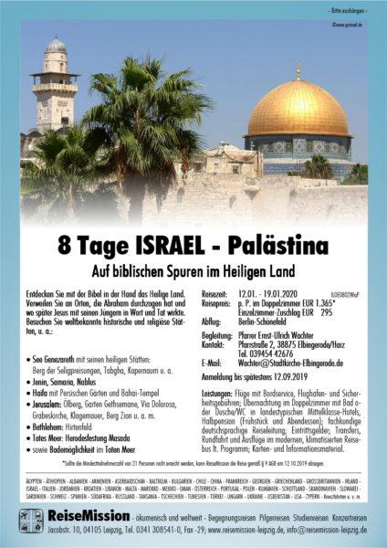 8 Tage Israel – Palestina 2019