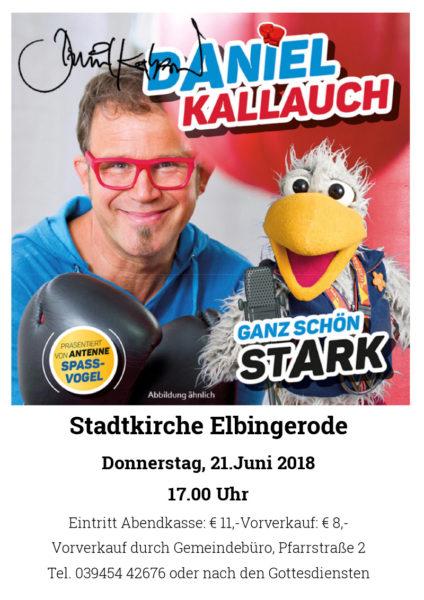 Daniel Kallauch in Elbingerode