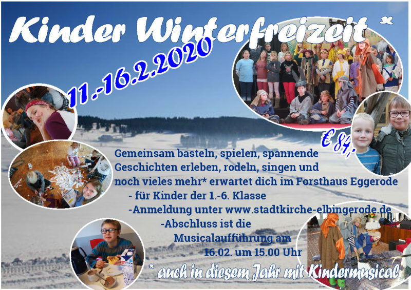Kinder-Winterfreizeit 2020