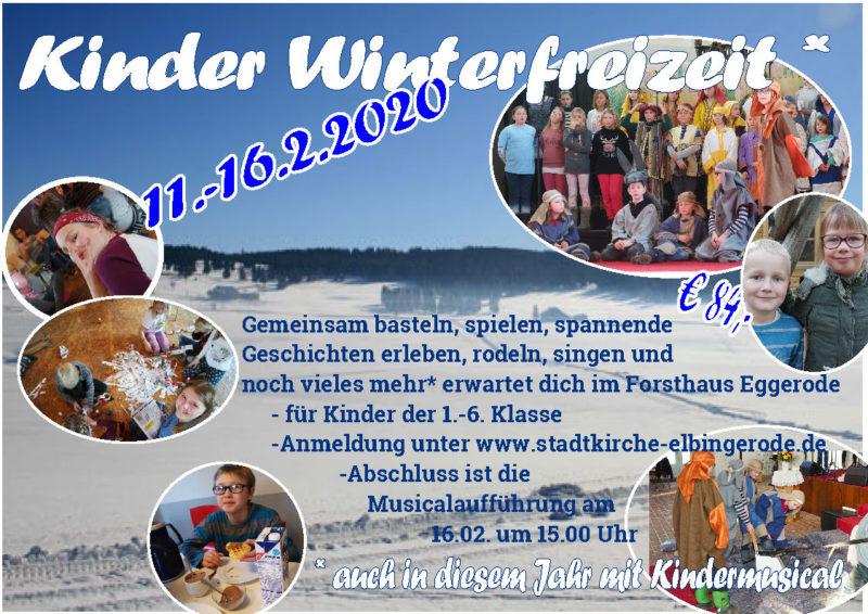 Kinder-Winterfreizeit 2020