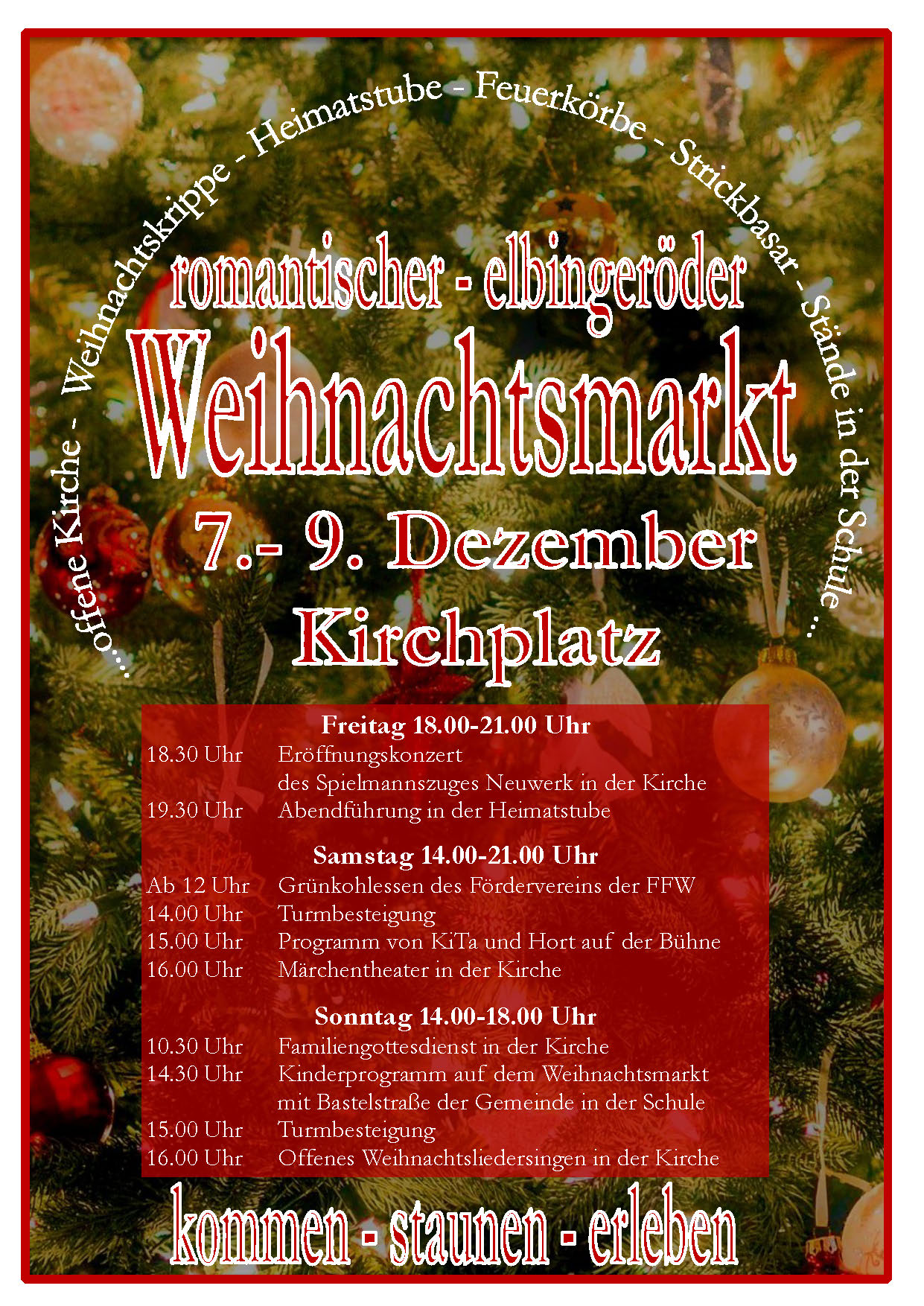 romantischer Elbingeröder Weihnachtsmarkt 2018